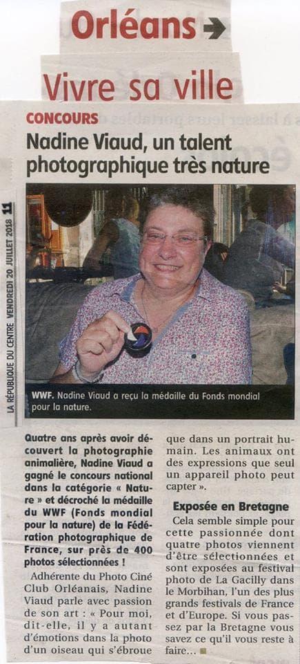 Nadine Médaillée
